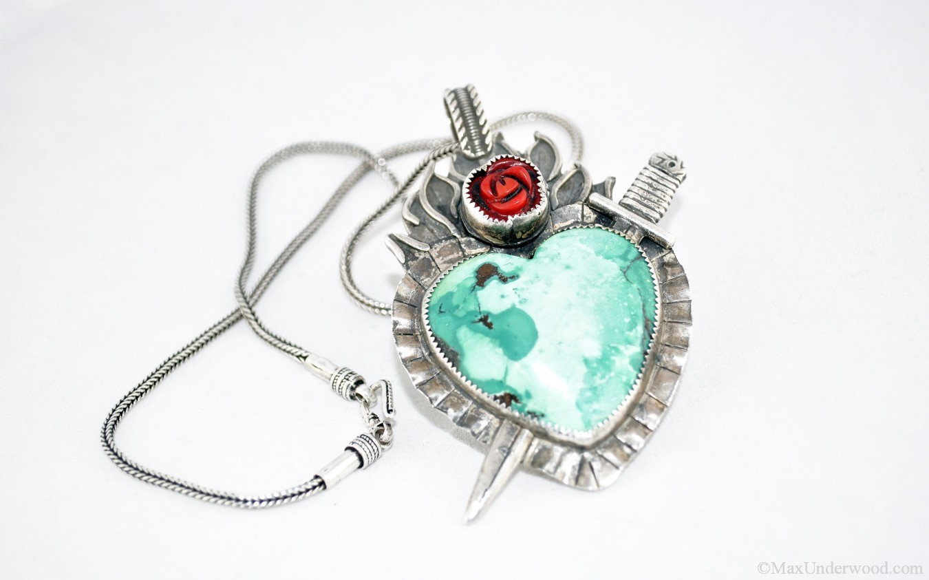 Jewelry product photography mockup shot. Santa Fe, NM.