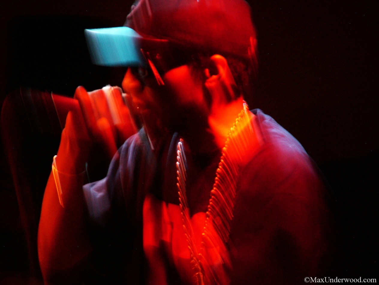 Del the Funky Homosapien live at Santa Fe Brewing Co. Hip-hop portraits