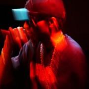 Del the Funky Homosapien live at Santa Fe Brewing Co. Hip-hop portraits