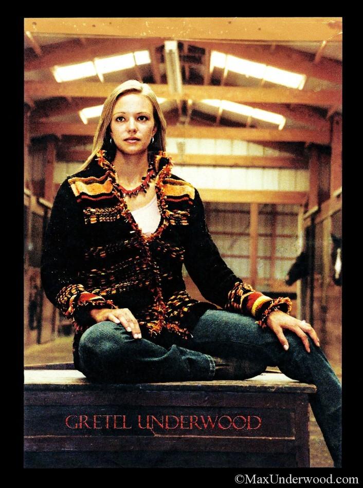 Gretel Underwood Handweaving Flier, advertisement, Santa Fe, New Mexico. Commercial photography.