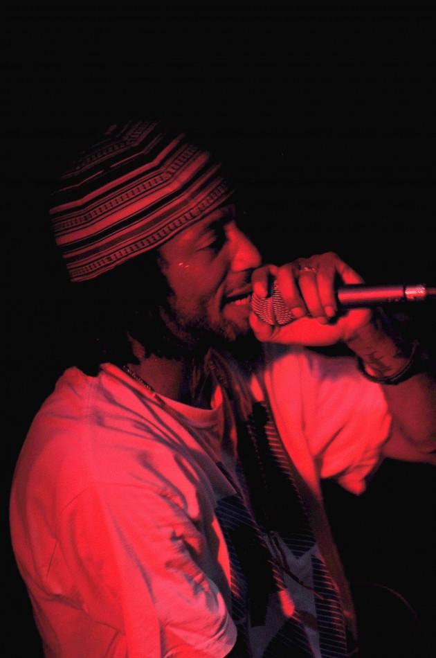 A-Plus in concert, Souls of Mischief at Santa Fe Brewing Co. Hip-Hop portraits.