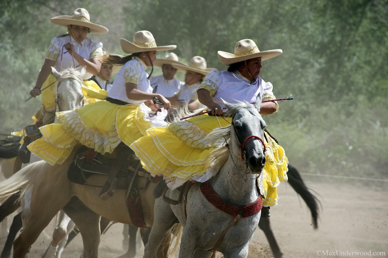 Charreada, Mexican Rodeo, Viva Mexico! at Las Golindrinas, female horseriding, New Mexico