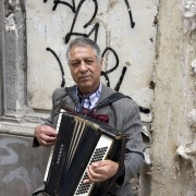 Accordionist, Granada, Spain, Street Portraits