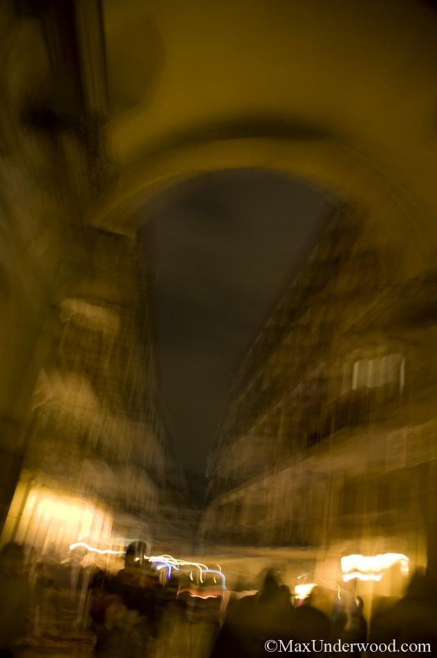 Plaza Mayor, Madrid, Spain, Abstract photography, cityscapes.