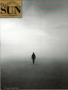 Cover of the October 2015 issue of The Sun magazine